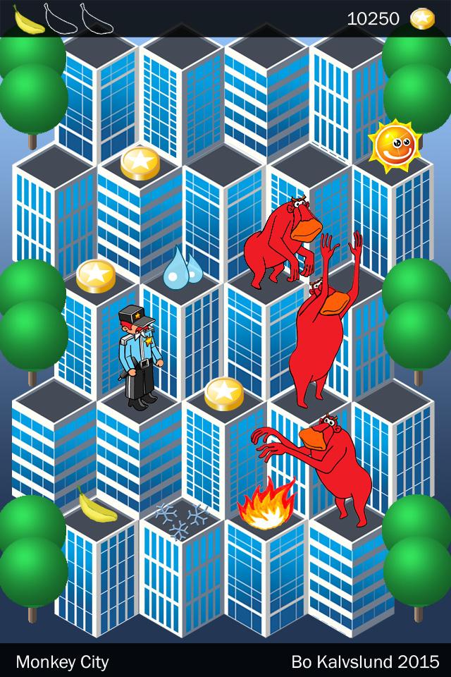 Nye bygninger i byen: Monkey City